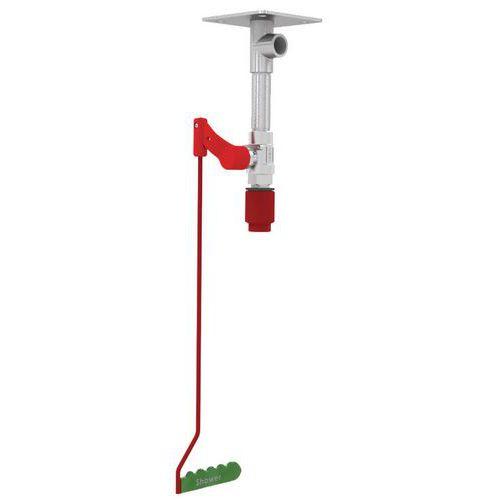 Doccia di sicurezza con fissaggio al soffitto non riscaldata - Per interni - Hughes