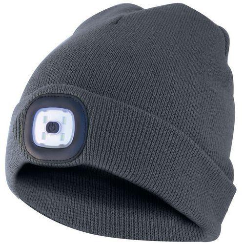 Cappello con torcia frontale a led integrata - Velamp
