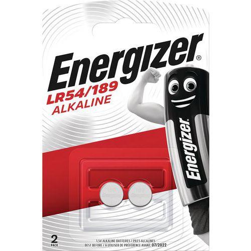 Pila alcalina per calcolatrice, orologio e multifunzione - LR54 - Lotto da 2 - Energizer