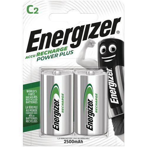 Pila ricaricabile C/LR14 - Lotto di 2 - Energizer