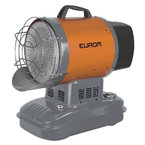 Riscaldamento ad aria pulsata a gasolio - Sun-blast 15kW - Eurom