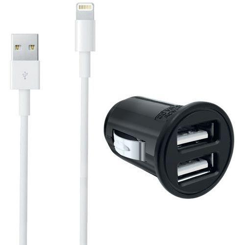 Caricatore accendisigari USB + cavo Lightning iPhone - Moxie