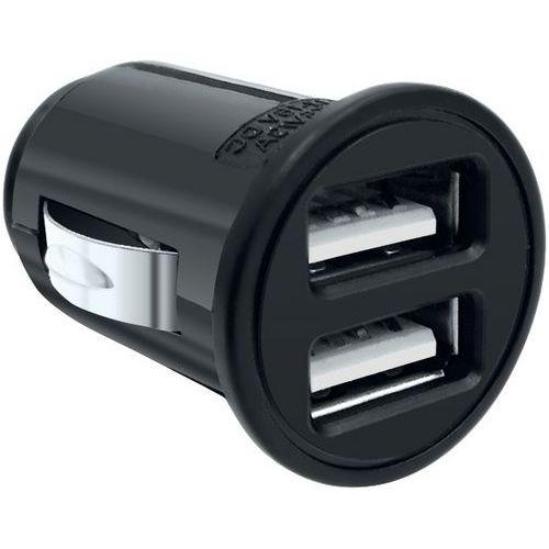 Mini caricatore accendisigari universale con 2 ingressi USB - Moxie