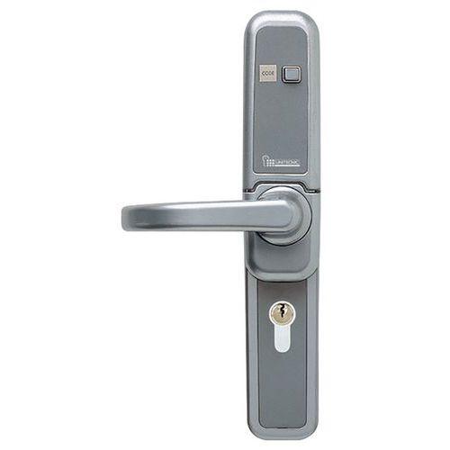 Serratura meccanica a codice reversibile con pannello di protezione - DOM-Metalux