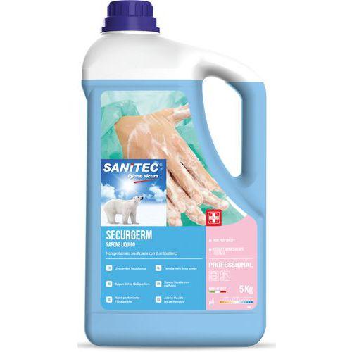 Sapone liquido con 2 antibatterici - 5 kg