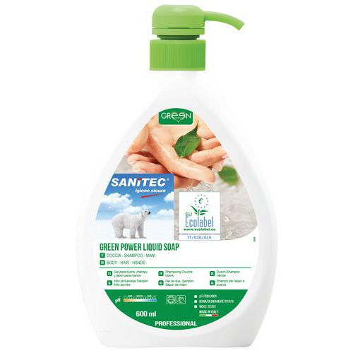 Sapone mani liquido - Ecolabel