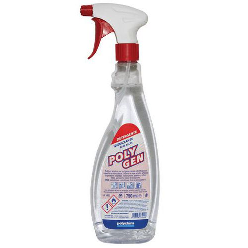 Detergente a base alcolica Polygen