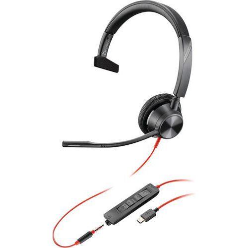 Cuffie USB-C jack 1 auricolare BW3315