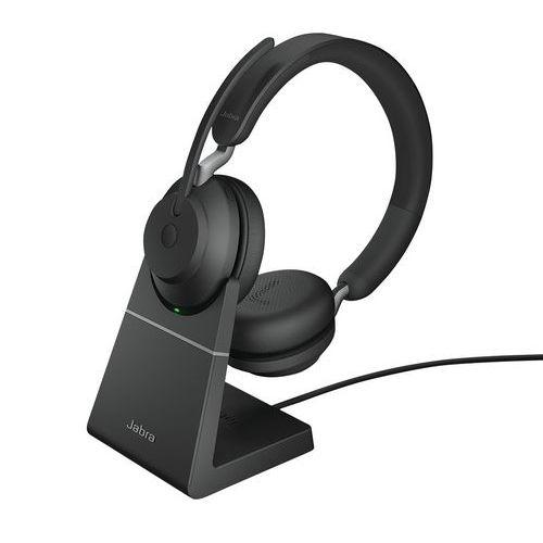 Cuffia con microfono con filo Evolve2 65 UC Duo USB-A Link 380a - Jabra