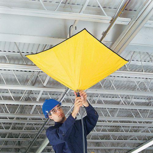 Sistema di deviazione perdite per tetti - A ombrello