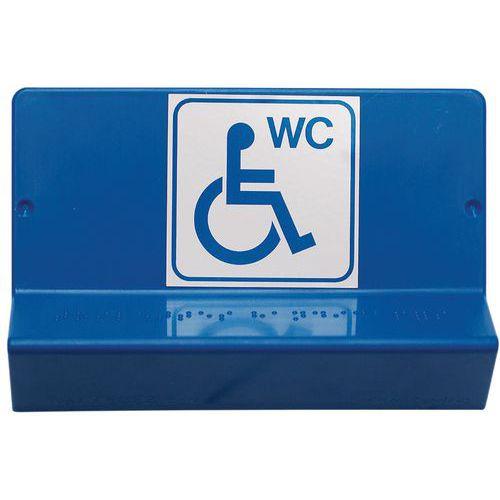 Segnaletica braille - WC - Wattelez