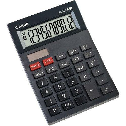 Mini calcolatrice 12 cifre grigio AS-120 HB - Canon