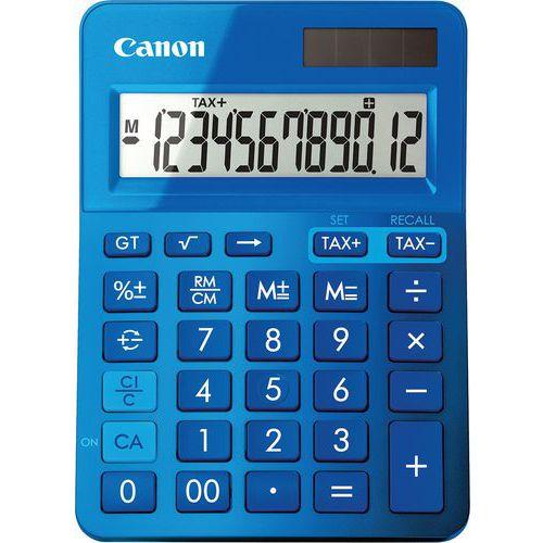 Calcolatrice 12 cifre blu LS-123K-MBL - Canon