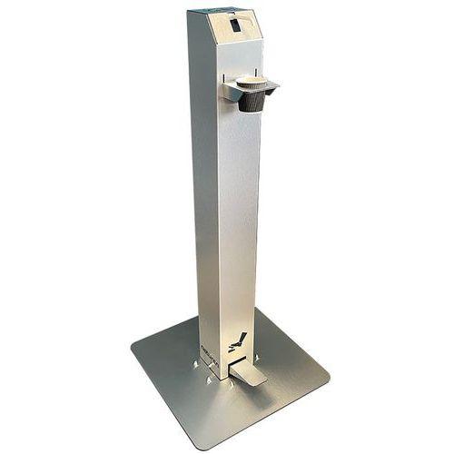 Dispenser gel a pedale e flacone di ricarica