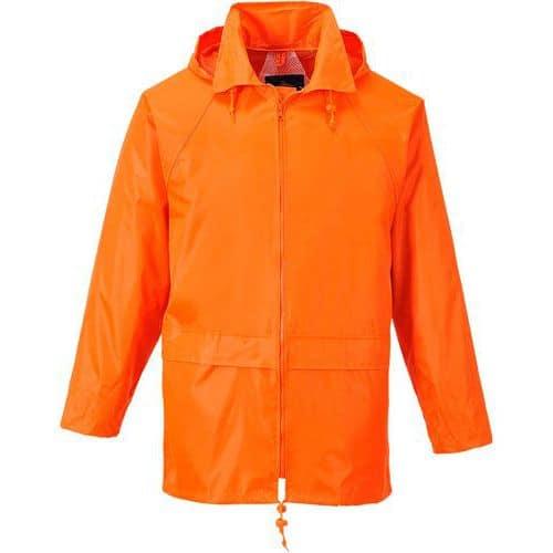 Giacca impermeabile classic arancione nero - Portwest