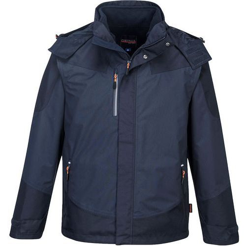 Giacca radial 3 in 1  blu navy - Portwest