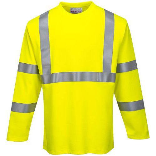 T-shirt fr maniche lunghe hi-vis - Portwest