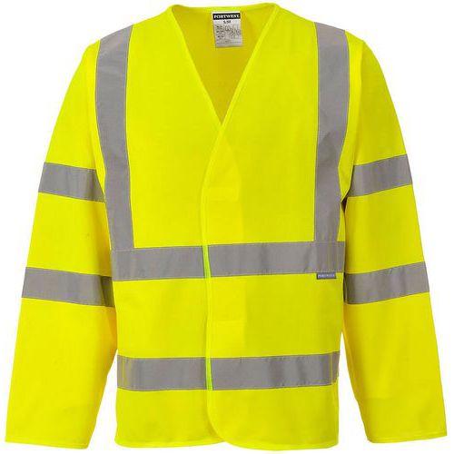 Giacca con due bande e bretelle hi-vis giallo - Portwest