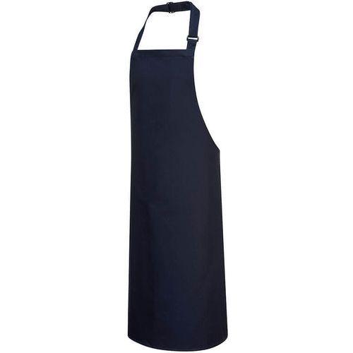 Grembiule in cotone con bretelle  blu navy - Portwest