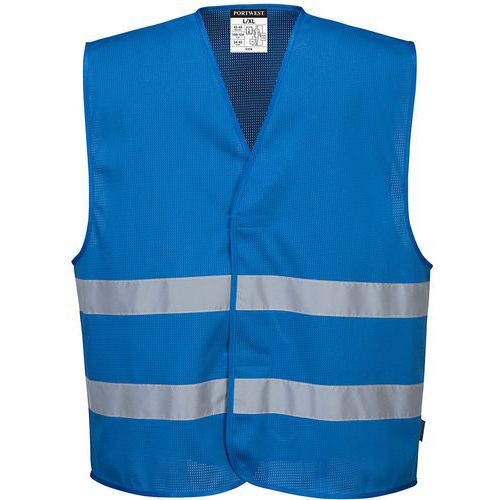 Gilet meshair iona blu reale - Portwest